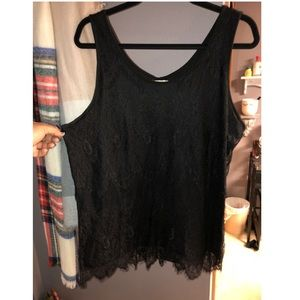 Maurices Lace Tank NWOT